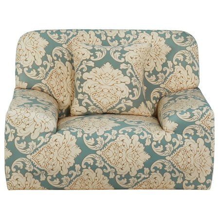 Piccocasa Leave Flower Pattern Sofa Chair Cover Slipcover