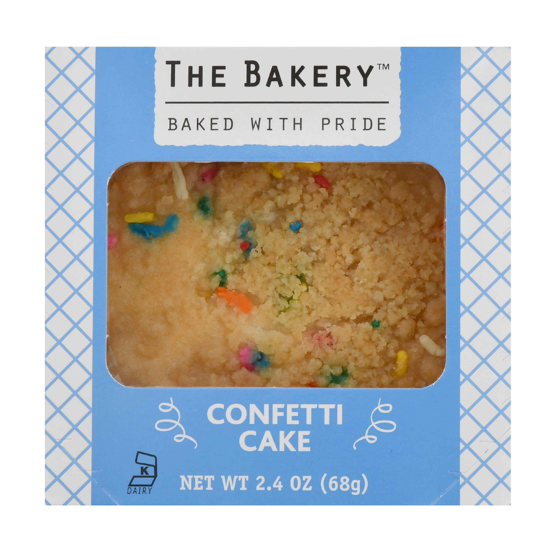 The Bakery Confetti Cake, 2.4 oz