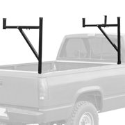 Pickup Truck Ladder Rack with Removable Support Arms