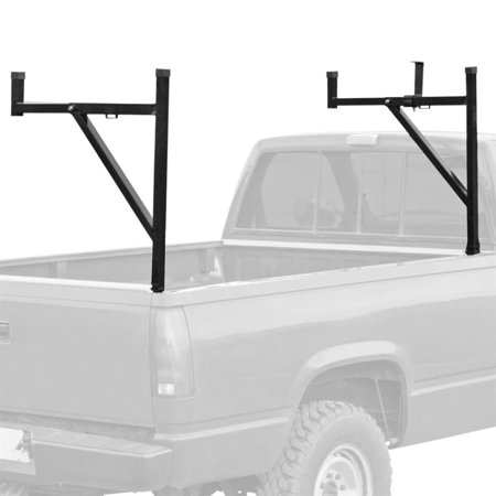 Pickup Truck Ladder Rack with Removable Support - Removable Ladder Rack