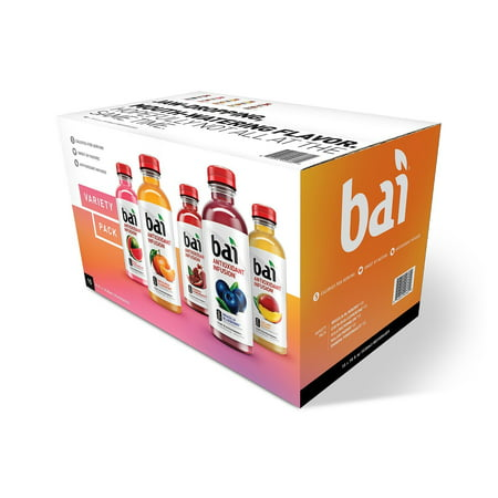 Bai Antioxidant Infusion Variety Pack, 18 Fl Oz, 15 Count