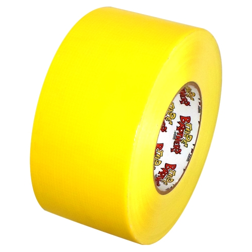 Pro Duct 120 Premium 3 inch x 60 yards (10 mil) Yellow Duct Tape 16 Roll/Case
