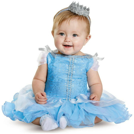 Disney Princess Cinderella Prestige Infant Halloween Costume, 6-12 Months