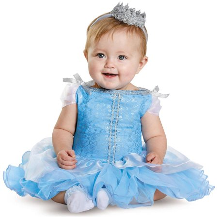 Disney Princess Cinderella Prestige Infant Halloween Costume, 6-12 Months - Printable Disney Princess Halloween Coloring Pages