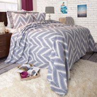 Somerset Home 2pc Oriana Chevron Quilt Set