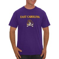 Russell NCAA East Carolina Pirates Big Men's Classic Cotton T-Shirt