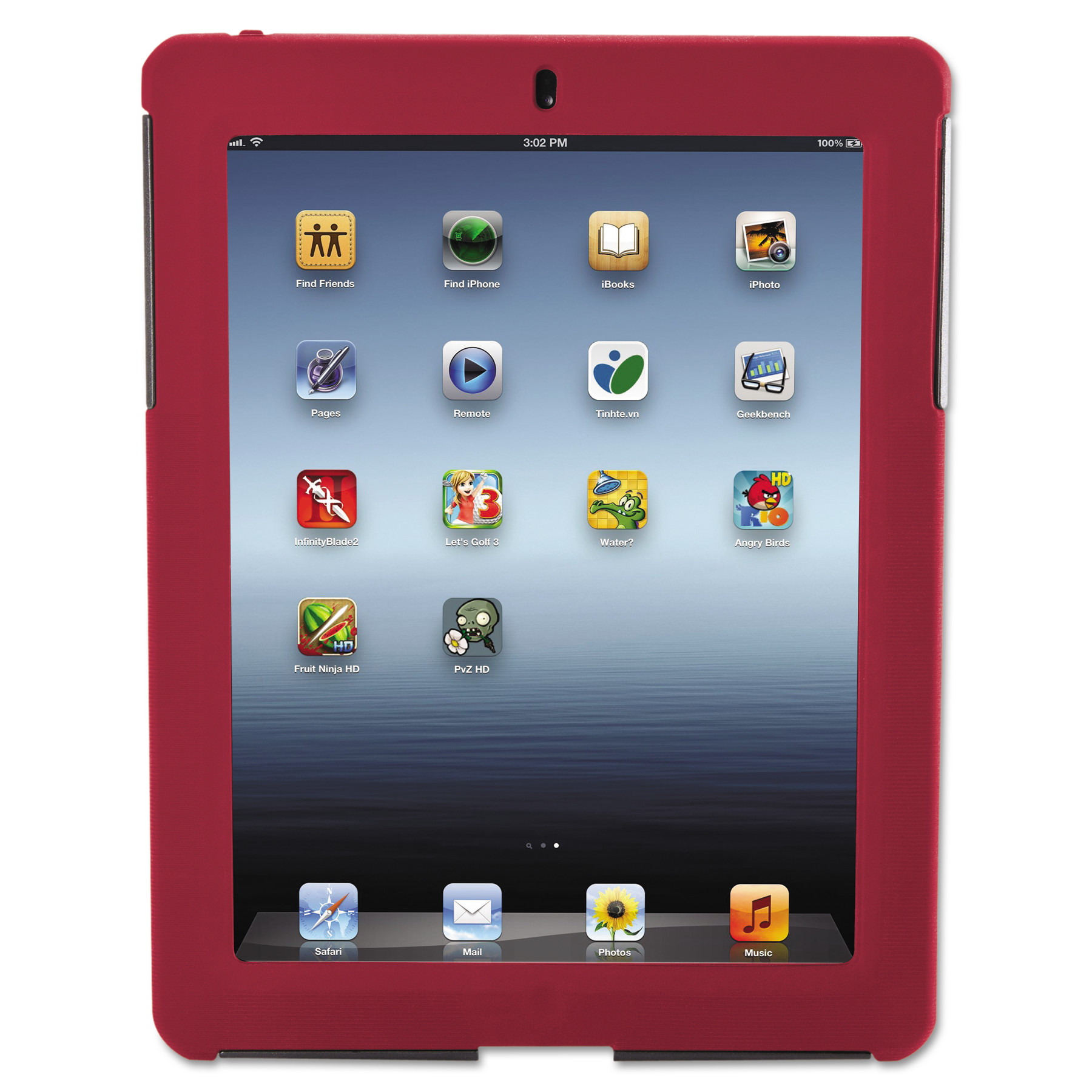 Targus SafePort Case Rugged for iPad 3/4, Red