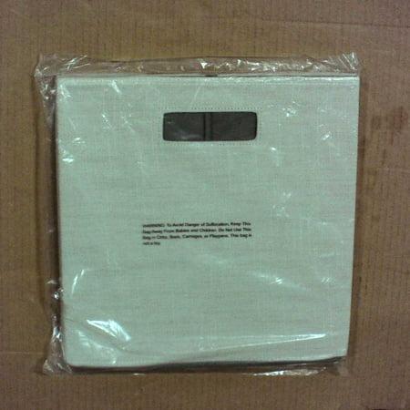 Fashion Cube Storage Bin (13) - Threshold - Sand Linen ()