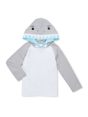 Wonder Nation Baby Toddler Boy Shark Swim Rashguard