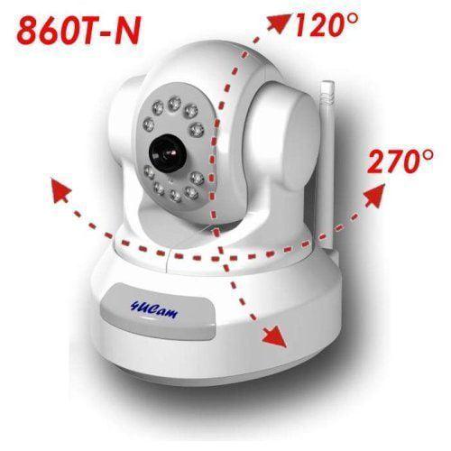 "4UCAM PAN / TILT Handheld 2.5"" Color Video Baby Monitor a..."