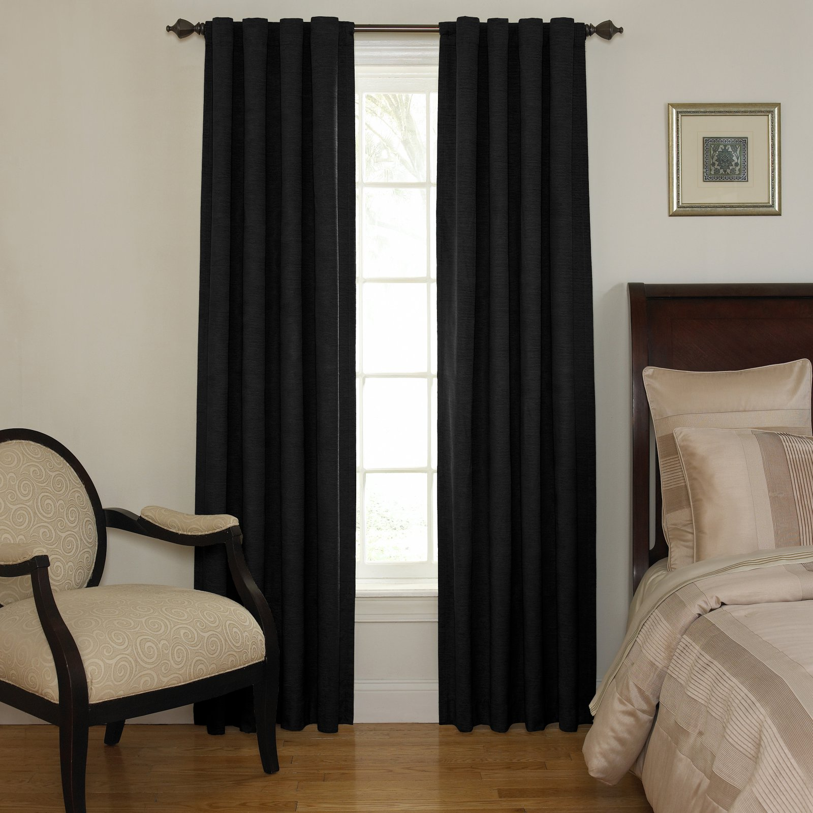 Beautyrest Room-Darkening Backtab Window Curtain Panel