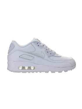 9728f2996500 Product Image Nike Air Max 90 Leather GS White Cool Grey 724821-100