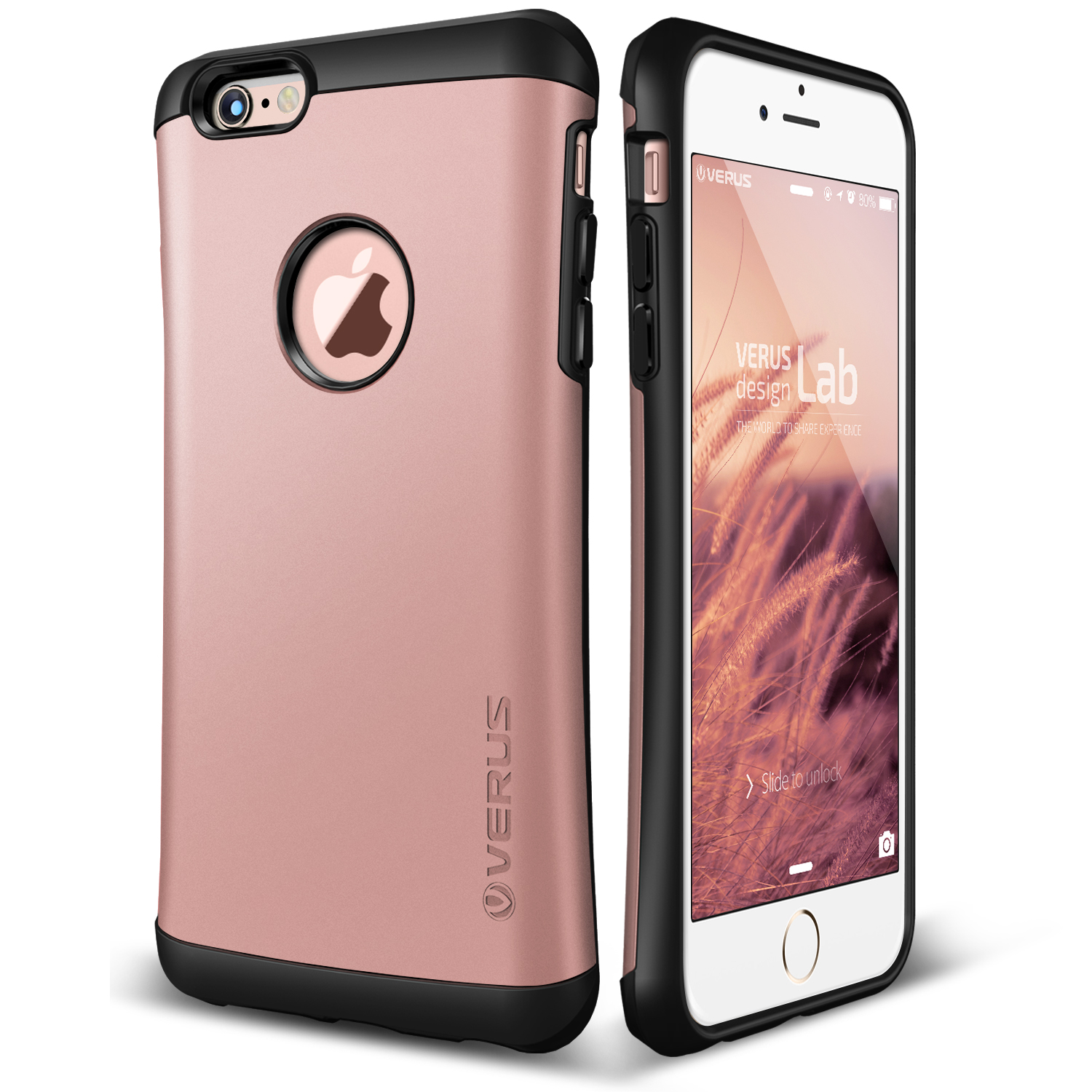 Apple iPhone 6S Case, Verus Thor - Military Grade Drop Protection, Natural Grip