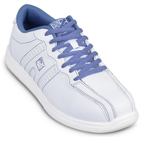 (KR Strikeforce Womens O.P.P Bowling Shoes- White/Periwinkle 5)
