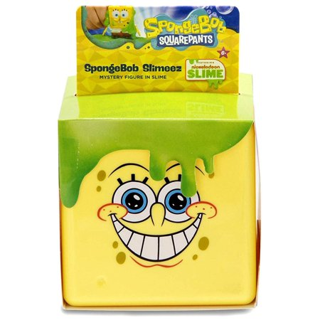 Nickelodeon Spongebob Squarepants Spongebob Slimeez Mystery Pack](Spongebob Mask)