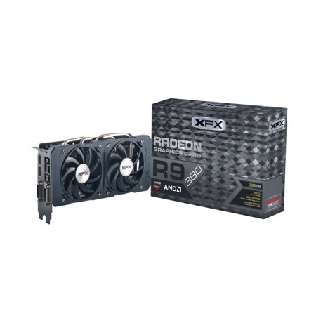 XFX DOUBLE DISSIPATION R9 380 990MHZ XXX OC 2GB DDR5 DISPLAYPORT HDMI DUAL DVI Graphics Cards
