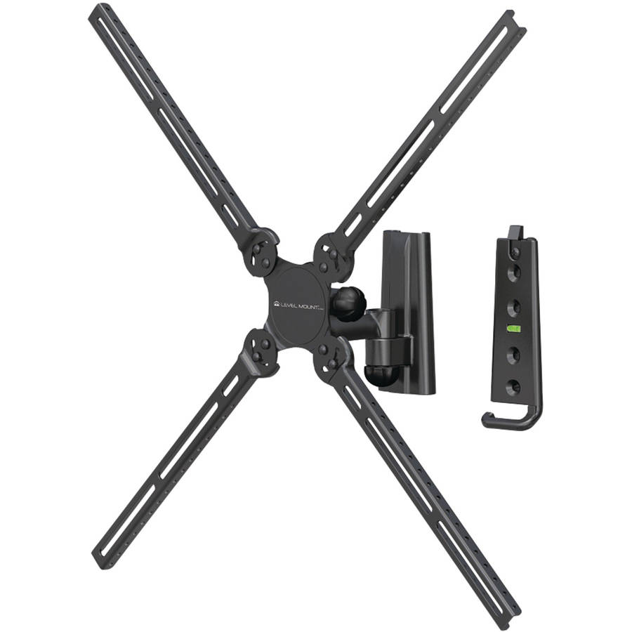 Level Mount by Elexa DC37SJ Full-Motion Single-Arm TV Mount