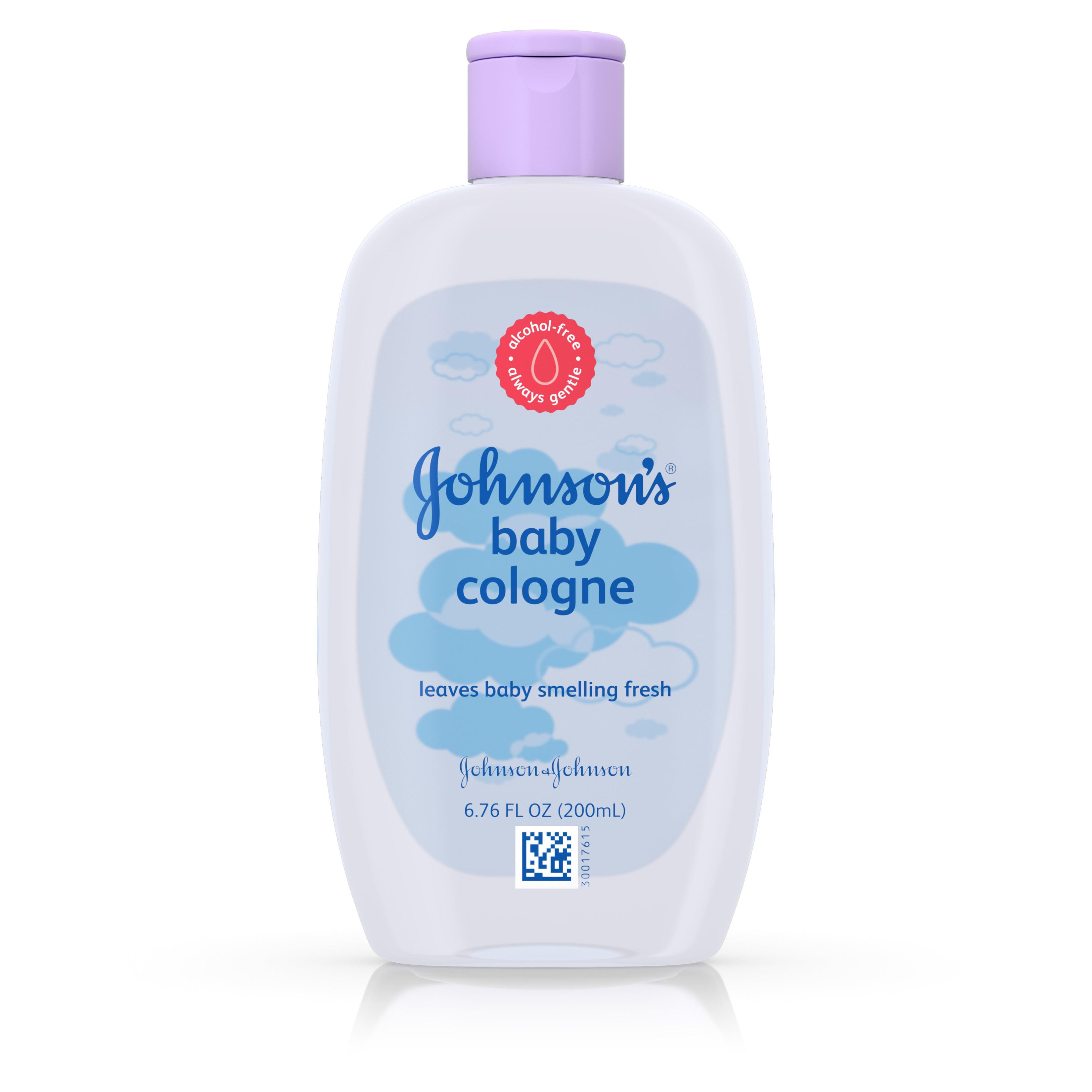 Johnson\'s Baby Cologne, Light Fragrance, 6.6 Fl Oz. - Walmart.com