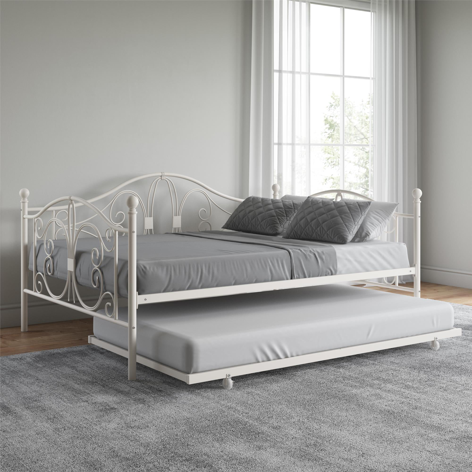 - Multiple Sizes Colors DHP Bombay Full Or Twin Size Metal Daybed