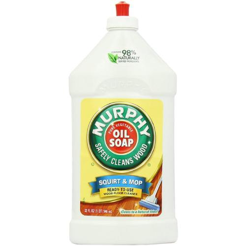 how to clean baby oil off wood floor