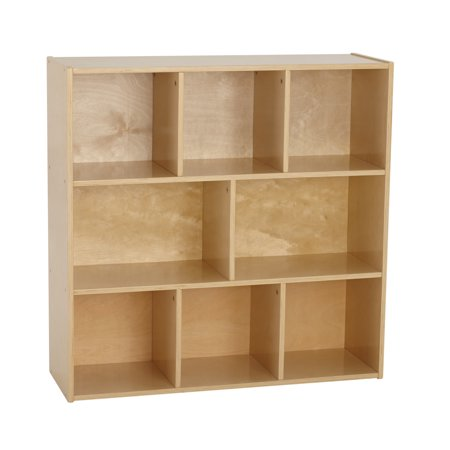 Birch Streamline 8-Compartment Storage Cabinet 36in H