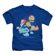 Woody Woodpecker Boys' Lets Fly Childrens T-shirt Blue