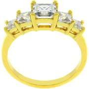 5 Stone Anniversary Ring In Gold- Size- 09