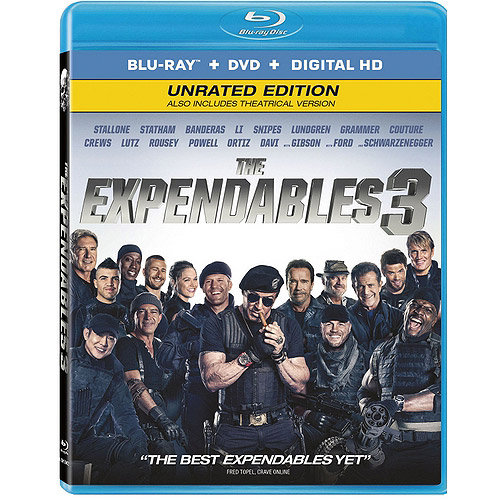 The Expendables 3 (Blu-ray   DVD   Digital HD) (With INSTAWATCH) (Widescreen)