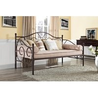 DHP Victoria Metal Daybed, Multiple Colors and Sizes