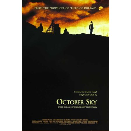 October Sky Poster Movie  27X40