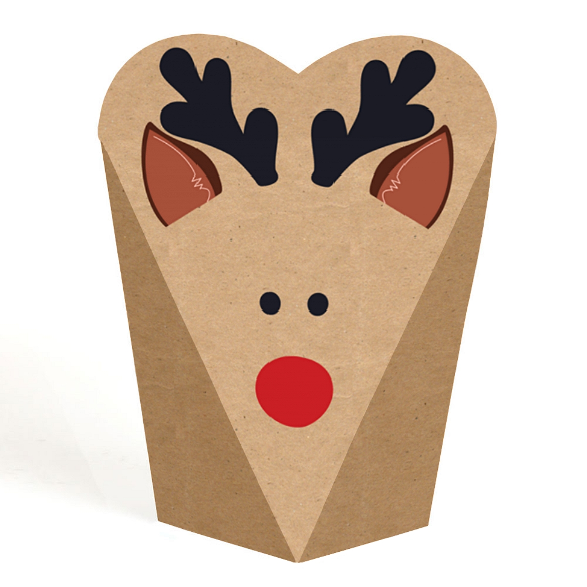 Prancing Plaid - Christmas & Holiday Party Favors - Gift Favor Boxes for Women & Kids - Set of 12