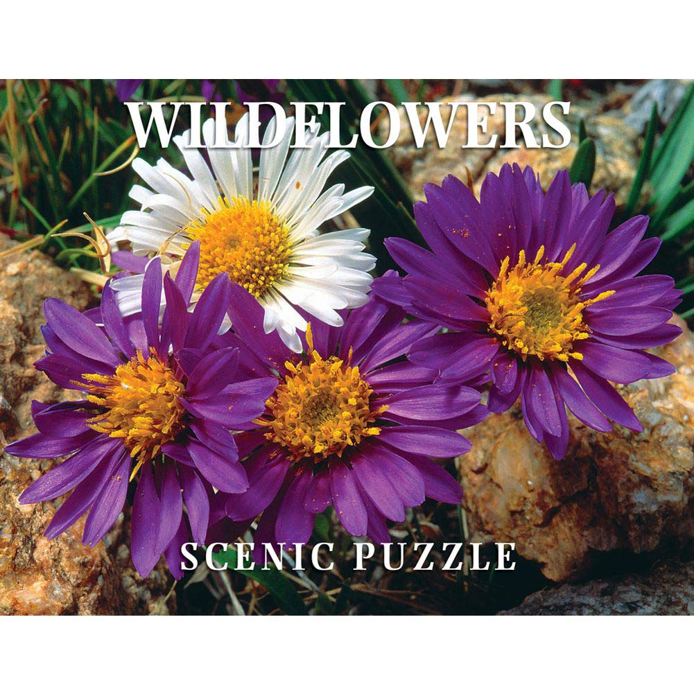 Wildflowers Scenic 300 Piece Puzzle