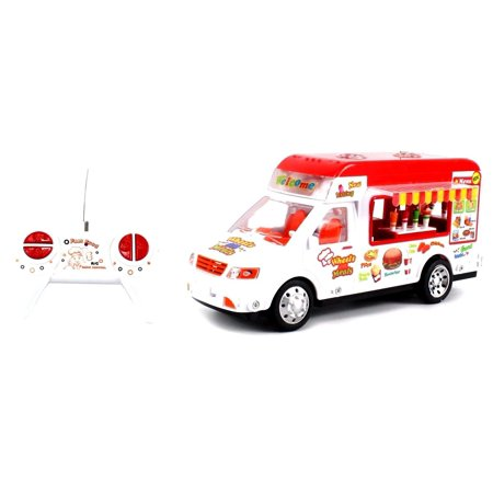 Mobile Food Electric RC Truck Restaurant Van 1:18 Scale Ready To Run (Rtr Ready Set)
