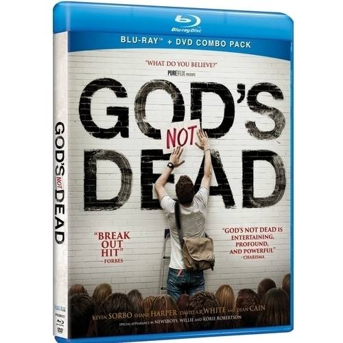 God's Not Dead (Blu-ray + DVD) (With INSTAWATCH) (With INSTAWATCH)