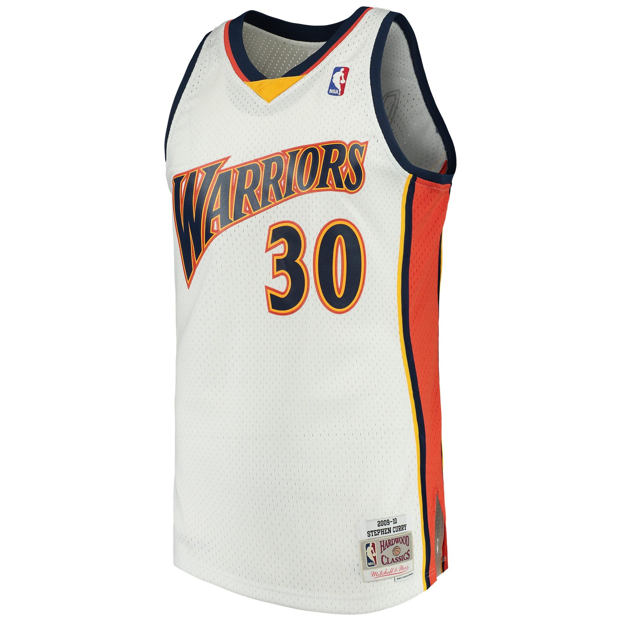 wholesale dealer 1bf75 a4582 Stephen Curry Golden State Warriors Mitchell & Ness Swingman ...