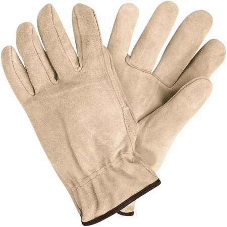 - Box Partners Deluxe Cowhide Leather Drivers Gloves Medium Natural 3 Pairs/Case GLV1064M