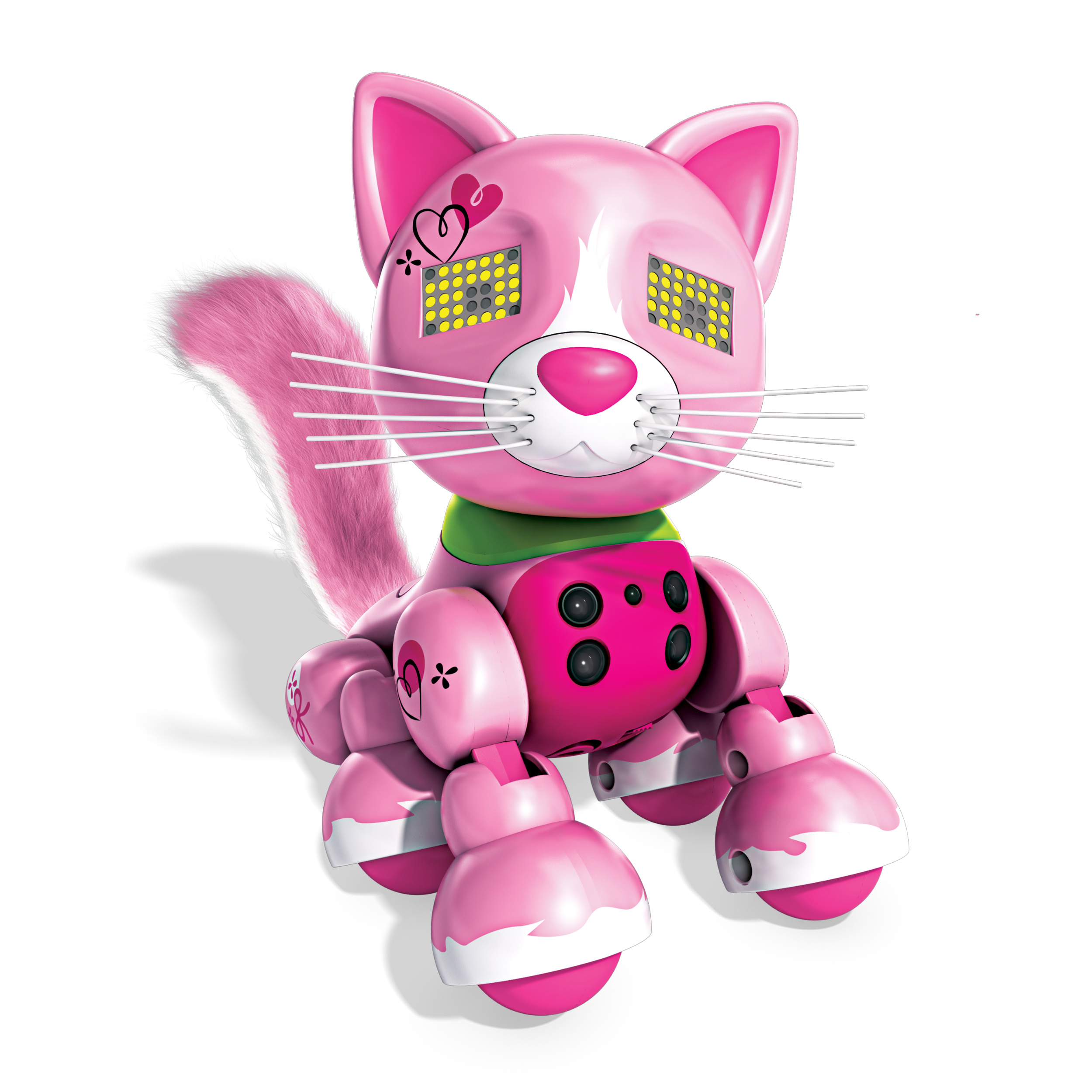 Zoomer Meowzies, Arista, Interactive Kitten with Lights, Sounds and Sensors, by Spin Master