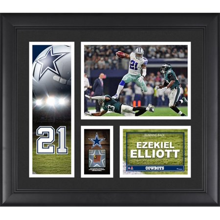 Ezekiel Elliott Dallas Cowboys Framed 15