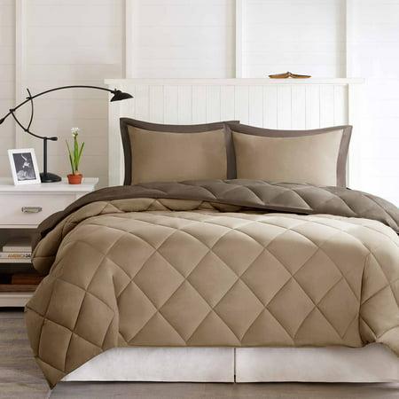 Comfort Classics Windsor Reversible Down Alternative 3M Scotchgard Comforter Mini Set