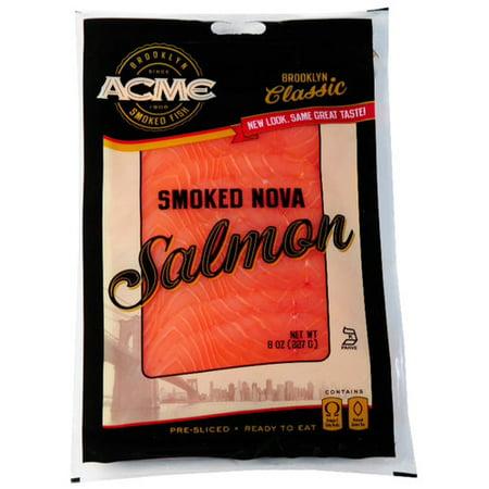 Acme smoked nova salmon 8oz for Acme smoked fish