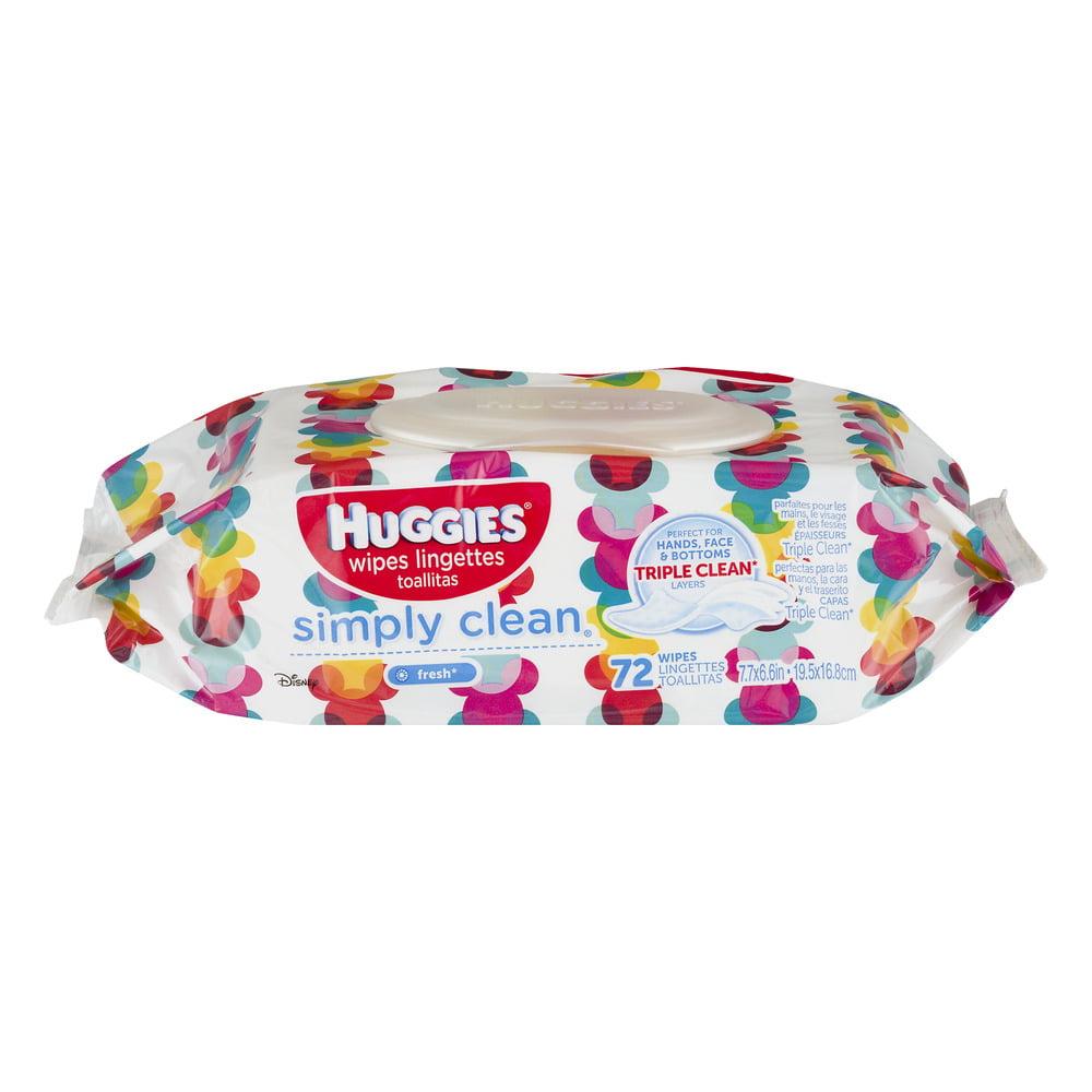 Huggies Wipes Simply Clean Fresh - 72 CT