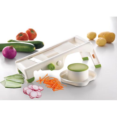 Paderno World Cuisine Mandolin Slicer, 5 Blades
