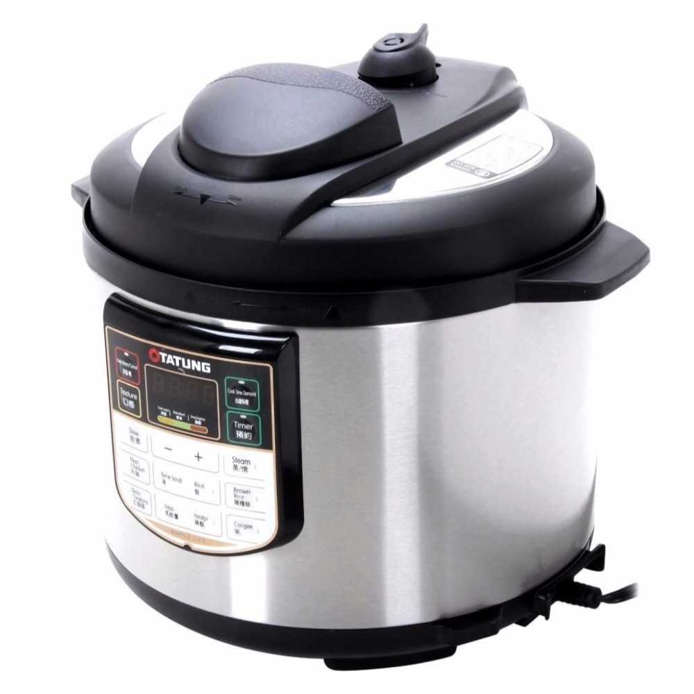 5-Quart Electric Pressure Cooker by Tatung