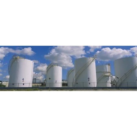 Art Supply Store Miami (Panoramic Images PPI64702L Storage tanks in a factory  Miami  Florida  USA Poster Print by Panoramic Images - 36 x)