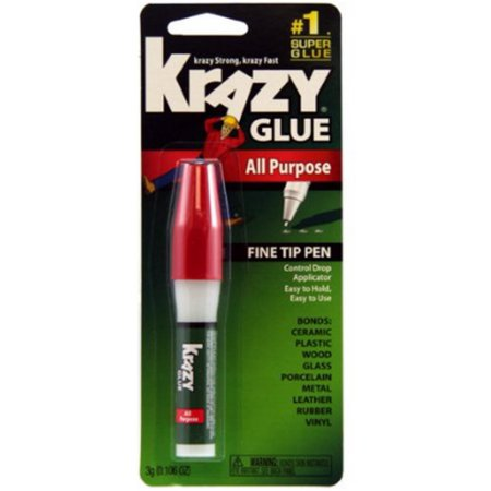 Krazy Glue All Purpose Pen 0.106 oz (Pack of 6)
