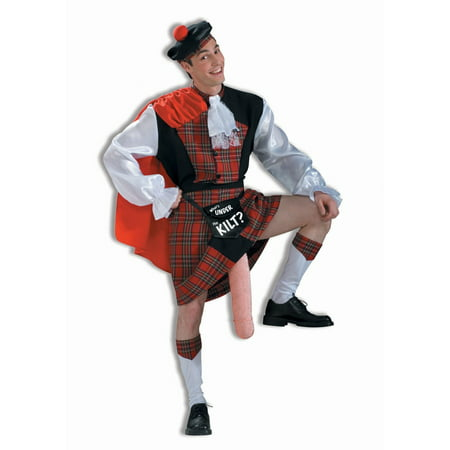 Halloween What's Under The Kilt Adult Costume for $<!---->