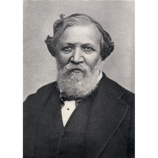 Posterazzi DPI1859524 Robert Browning 1812-1889. English Poet in 1861 Poster Print, 12 x 18
