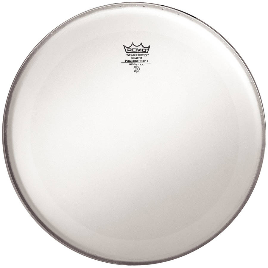 "Remo P40114BP Powerstroke 4 Coated 2-Ply 14"" Drumhead with Underlay"