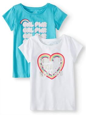 38c7d3faedd32 Big Girls Tops   T-Shirts - Walmart.com