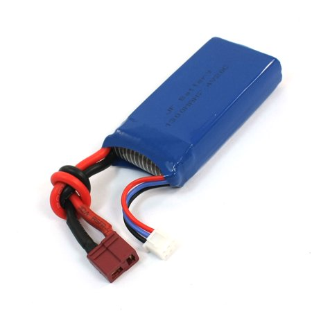 7.4V 1300mAh 20C 26A Lithium Li-ion Polymer Rechargeable Battery for RC Aircraft